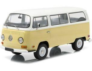 Greenlight GREEN19012 VW BUS T2B 1971 ARTISAN COLLECTION KANSAS BEIGE/PASTEL WHITE 1;18 Modellino