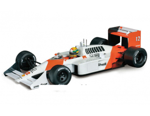 PremiumX SEN18002 MC LAREN MP4/4 A.SENNA 1988 N.12 WINNER JAPAN GP WORLD CH.W/DECALS 1:18 Modellino