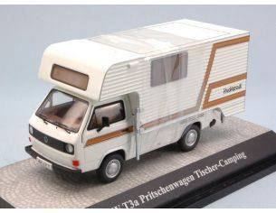Premium Classixx PREM11528 VW T3a PRITSCHENWAGEN TISCHER-CAMPING 1:43 Modellino