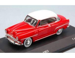 White Box WB111 SIMCA ARONDE GRAND LARGE 1953 RED/WHITE 1:43 Modellino