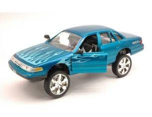 Motormax MTM79922BL FORD CROWN VICTORIA 1998 BLUE 1:24 Modellino