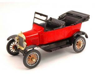Motormax MTM79328RD FORD MODEL T TOURING 1925 RED 1:24 Modellino