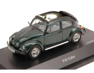 Schuco SH3878 VW KAFER OPEN AIR GREEN 1:43 Modellino