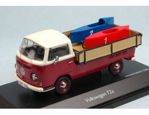 Schuco SH3338 VW T2A + SOAP CAR 1:43 Modellino