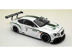 True Scale Miniatures TSM134301 BENTLEY CONTINENTAL GT3 2012 CONCEPT RACE CAR PEARL 1:43 Modellino