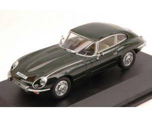 Oxford OXFJAGV12004 JAGUAR E TYPE COUPE' V12 1971 GREEN 1:43 Modellino