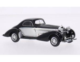Neo Scale Models NEO44820 HORCH 853 SPEZIAL COUPE' SILVER/BLACK 1:43 Modellino