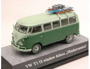 Premium Classixx PREM13861 VW T1 MINDERSAMBA LIGHT GREEN/GREEN 1:43 Modellino