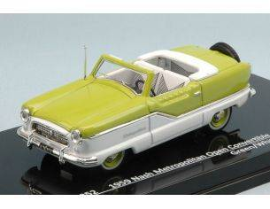 Vitesse VE36252 NASH METROPOLITAN OPEN CONVERTIBLE 1959 GREEN/WHITE 1:43 Modellino