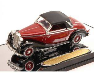 Signature SIGN43709RBK MERCEDES 170S 1950 RED/BLACK 1:43 Modellino