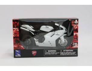 New Ray NY57143 DUCATI 1198 WHITE SCALA 1:12 Modellino