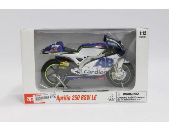 New Ray NY42393 APRILIA 250 RSV LE ALEX DE ANGELIS No.17 1:12 Modellino