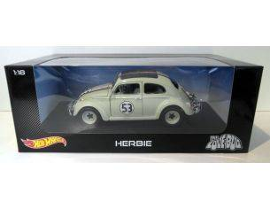 Hot Wheels HWBLY59 VW BEETLE HERBIE THE LOVE BUG 1:18 Modellino