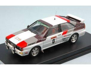 Trofeu TFRRAL35 AUDI QUATTRO N.0 WINNER RALLY OF ALGARVE 1980 BUT NOT ALLOWED 1:43 Modellino