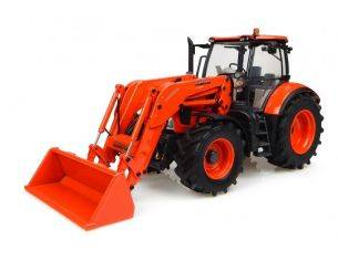 Universal Hobbies UH4940 KUBOTA M7171 WITH FRONT LOADER 1:32 Modellino