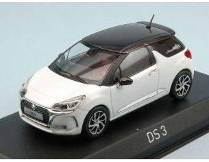 Norev NV155260 CITROEN DS 3 2016 PEARL WHITE W/BLACK ROOF 1:43 Modellino