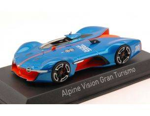Norev NV517846 ALPINE VISION GRAN TURISMO 2015 METALLIC BLUE/ORANGE 1:43 Modellino