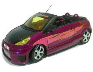 Norev NV181009 C3 Pluriel C-California Tuned Purple 1:18 Modellino