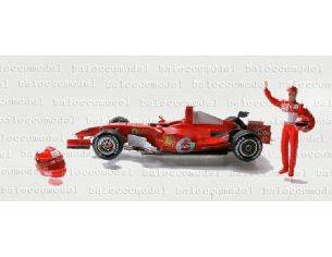 Hot Wheels J2996 FERRARI M.SCHUMACHER INTERL.'06 1:18 Modellino Scatola rovinata