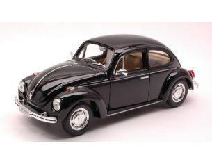 Welly WE1624 VW BEETLE 1968 BLACK 1:24 Modellino
