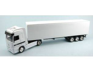 New Ray NY15113HSS CAMION MERCEDES CONTAINER WHITE 1:43 Modellino