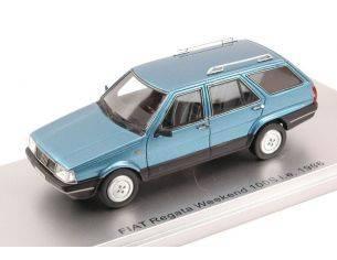 Kess Model KS43010101 FIAT REGATA WEEKEND 100S i.e. 1986 BLUE MET. 1:43 Modellino