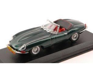 Best Model BT9618 JAGUAR E SPYDER CANTAGIRO 1962 ADRIANO CELENTANO GREEN MET.1:43 Modellino