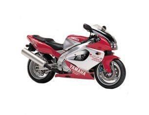 New Ray NY06027 Yamaha YZF 1000R Rossa 1:32 Moto Modellino