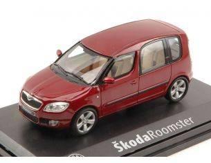 Abrex AB007J SKODA ROOMSTER 2006 RED FLAMENCO 1:43 Modellino