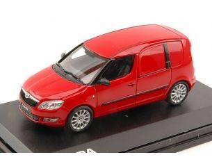 Abrex AB006B SKODA PRAKTIK 2007 RED CORRIDA 1:43 Modellino