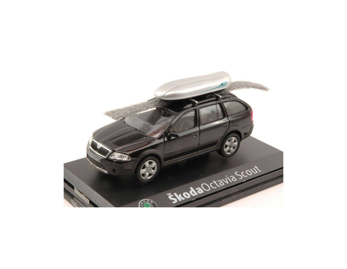 abrex ab011d01 skoda octavia combi scout with roof box. Black Bedroom Furniture Sets. Home Design Ideas