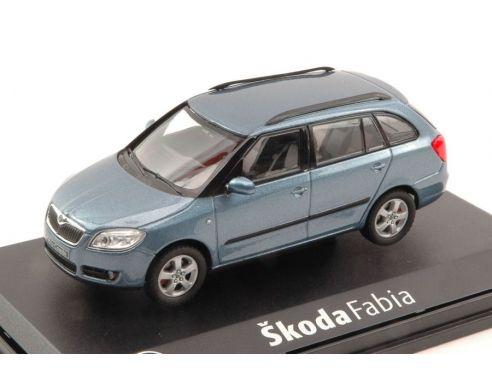 Abrex AB009CE SKODA FABIA COMBI II 2007 SATIN GREY METALLIC 1:43 Modellino