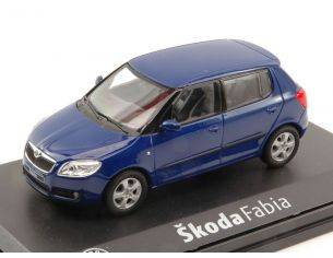 Abrex AB008L SKODA FABIA II 2007 BLUE DYNAMIC 1:43 Modellino