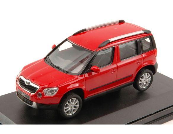 auto 1 43 abrex ab014b skoda yeti 2009 red corrida 1 43. Black Bedroom Furniture Sets. Home Design Ideas