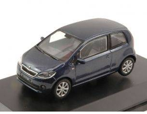 Abrex AB021KL SKODA CITIGO 3 DOORS 2011 NIGHT BLUE METALLIC 1:43 Modellino