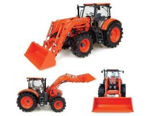 Universal Hobbies UH4927 KUBOTA M7-171 WITH FRONT LOADER (US VERSION) 1:32 Modellino