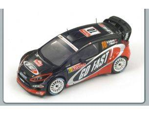 Spark Model S3345 FORD FIESTA RS N.10 13th MONTE CARLO 2012 SOLBERG-MINOR 1:43 Modellino