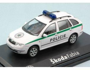 Abrex AB004XA SKODA FABIA COMBI POLICIE 1:43 Modellino
