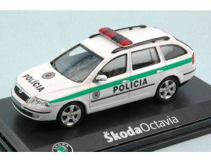Abrex AB002XF SKODA OCTAVIA COMBI 2004 POLICIA SK 1:43 Modellino