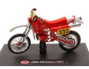 Abrex ABM003 JAWA 250 ENDURO N.333 1987 1:18 Modellino