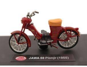 Abrex ABM001 JAWA 50 PIONYR 1955 AMARANT 1:18 Modellino
