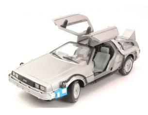 Hot Wheels HWCMC98 DE LOREAN BACK TO THE FUTURE TIME MACHINE WITH MR.FUSION 1:18 Modellino