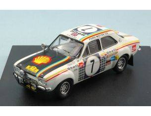 Trofeu TF0515 FORD ESCORT RS 1600 N.7 WINNER SAFARI RALLY 1972 H.MIKKOLA-G.PALM 1:43 Modellino