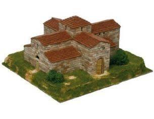 Aedes Ars AS1102 Chiesa Di San Pedro De La Nave 1:80 Kit Modellino