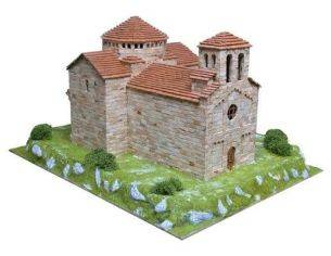 Aedes Ars AS1101 Chiesa di Sant Jaume de Frontanya 1:80 Kit Modellino