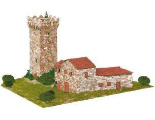 Aedes Ars AS1258 Torre de peraires PCS 2800 1:80 Kit Modellino