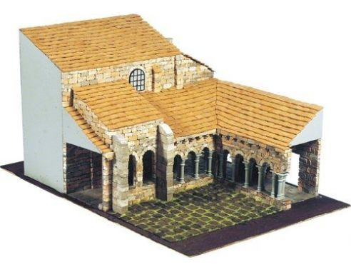 Domus Kits 40095 ROMANICA 18 Colegiata Sta. Juliana 1:50 Kit Modellino
