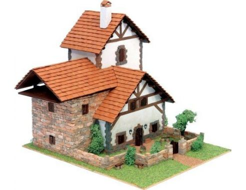 Domus kits 40958 modello di pietra tipica casa di vielha for Modello di casa