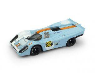 Brumm BM0569 PORSCHE 917K N.32 2nd 1000 KM B.AIRES 1971 P.RODRIGUEZ-J.OLIVER 1:43 Modellino