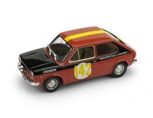Brumm BM0553 FIAT 127 N.46 RALLY DUE VALLI 1972 PINO CECCATO 1:43 Modellino